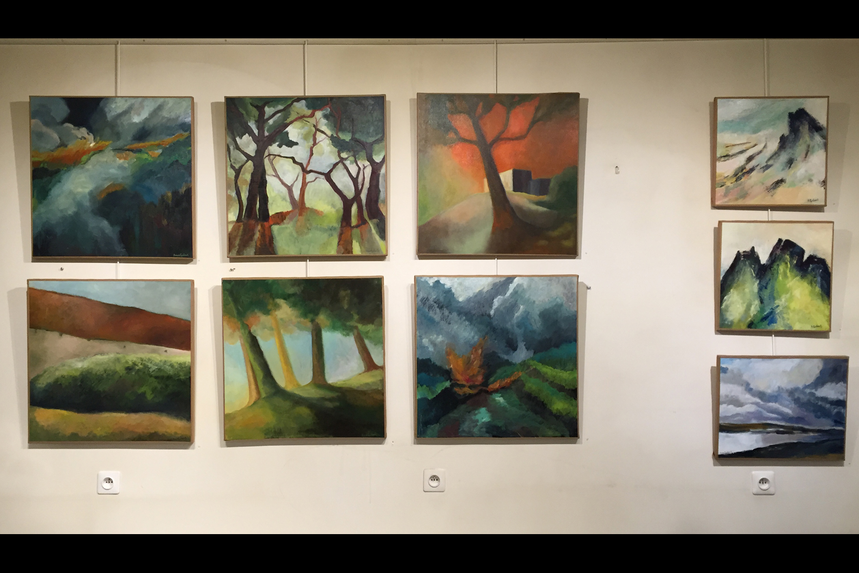 Exposition d'Anne Guibert